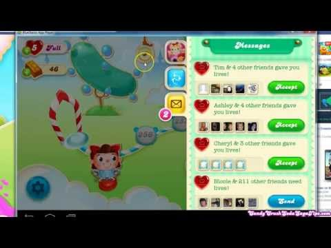 Get and Give Lives in Candy Crush Soda Saga