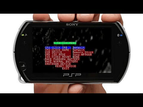 How to Put PSP Video Games on JailBroken PSP plus make the PSP a lot more Faster in 2018 👍🙏