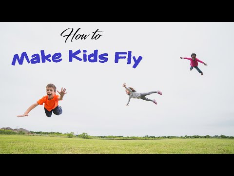 How to Make Kids Fly - Levitation Photography