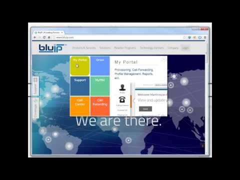 How to Change Voice mail Password Using My Portal from BluIP