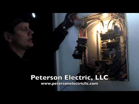 Electrical Bus Bar In Panel Is Discoloring & Breaker Is Tripping, Fort Collins Electrician, CO