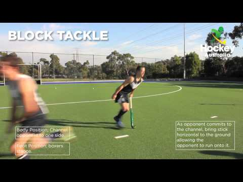 Hockey Australia Skill Video - Block Tackle