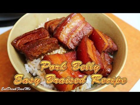 Easy Braised Pork Belly - Easy Recipe Eps#34