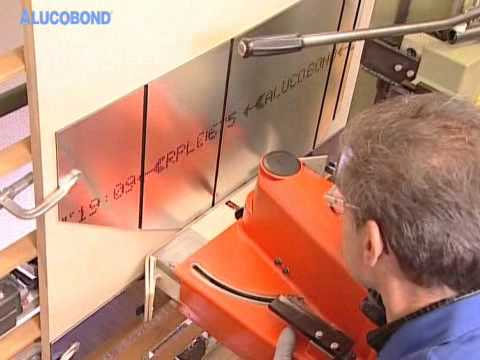 ALUCOBOND® Routing and folding technique