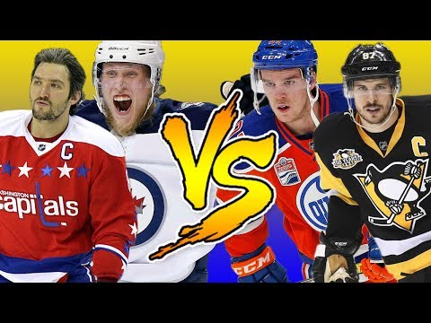 Best NHL Playmakers VS Best NHL Snipers | NHL 18