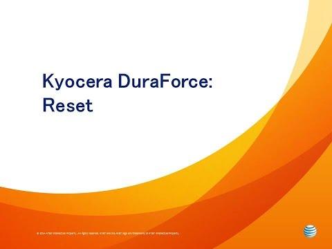 Kyocera DuraForce : Reset