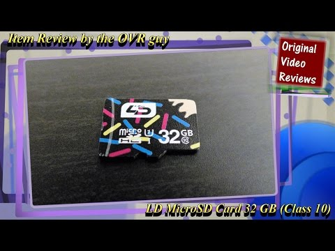 Item review - LD MicroSD Card 32 GB (Class 10)