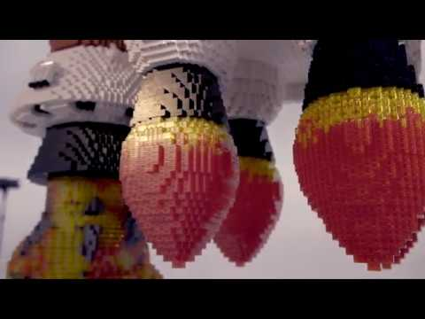 Building Awesome- LEGO® brick NASA Space Launch System Rocket