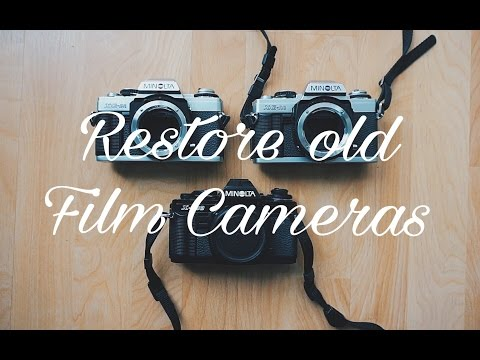 How To Restore Old Film Cameras!