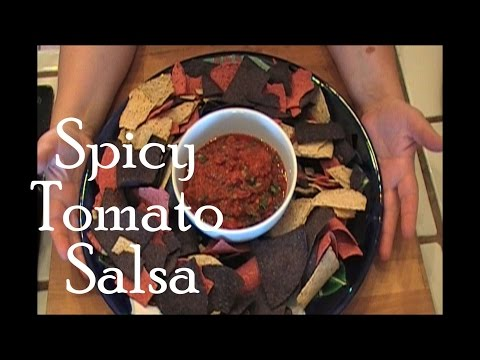 Spicy Tomato Salsa with Chipotles