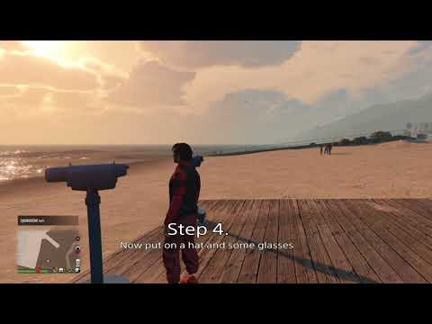 GTA 5 Online (SOLO) EASY TO DO HAT, MASK AND GLASSES GLITCH (GTA5)-(1.40)