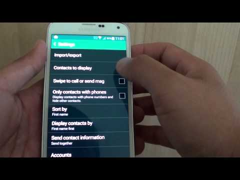Samsung Galaxy S5: How to Enable/Disable Swipe to Call or Message