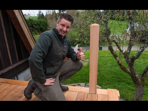 FTF #54 How To Install Handrail Posts, Quick And Easy