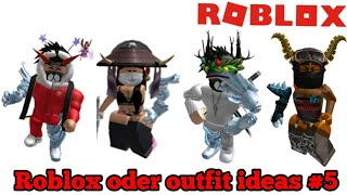 Oder Roblox Character Ideas