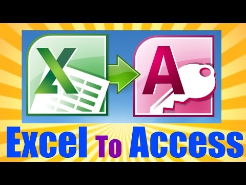 HUGE Microsoft Access Tutorial - 3 HOURS! - Import Excel Into Access 2013/2016