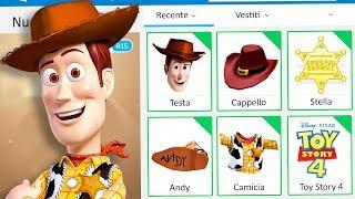 Download CREO IL PROFILO DI WOODY (TOY STORY 4) SU ROBLOX - Roblox ITA Video