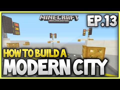 Minecraft Xbox - How To Build A Modern City (EP.13) - The Junction
