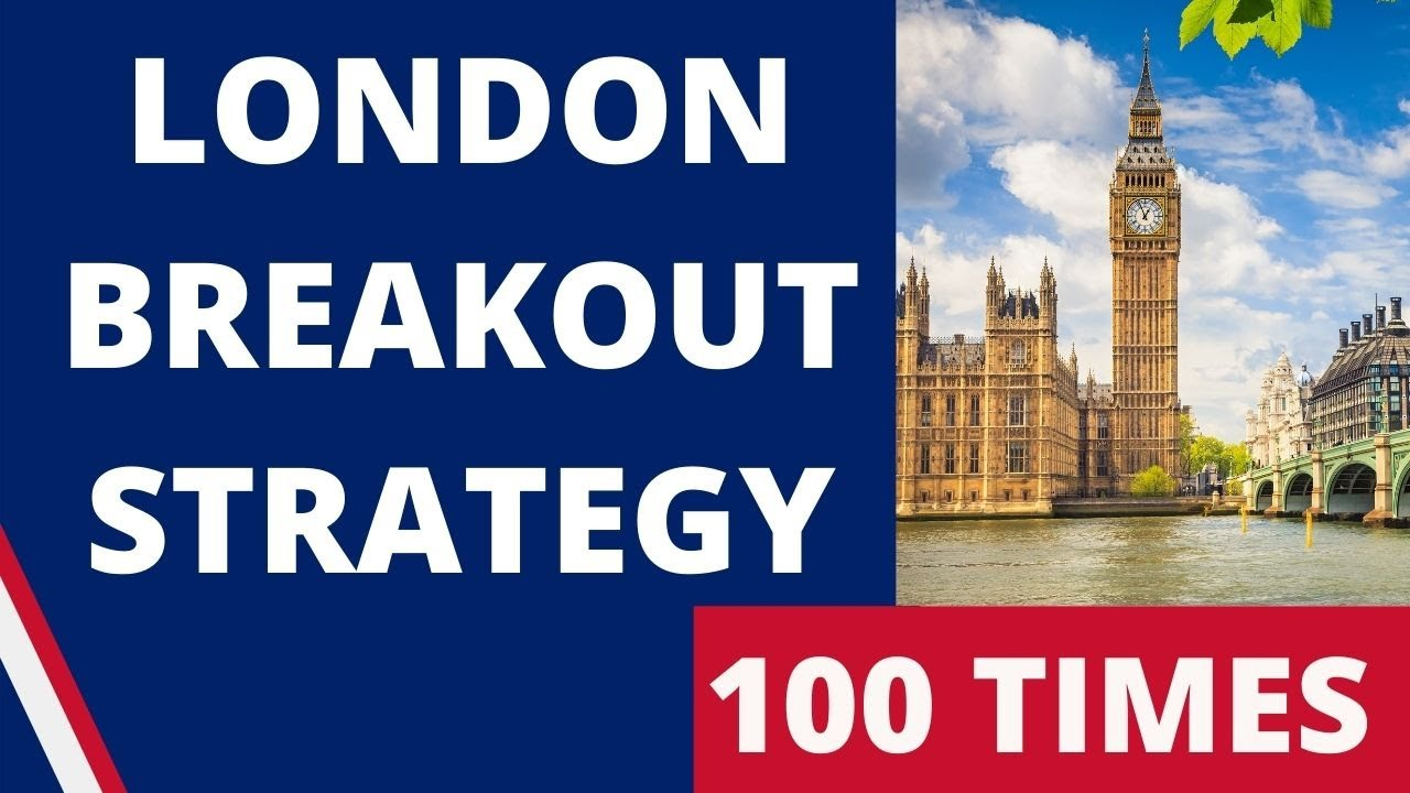 I TESTED London Breakout Strategy 100 TIMES with $100 - Forex Scalping Strategy | AMAZING