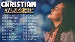 2 Hours Non Stop Worship Songs 2021 With Lyrics - Best 100 Christian Worship Songs  - Worship 2021