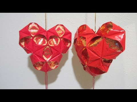 CNY TUTORIAL NO. 67 - Hongbao Heart-shaped Lantern