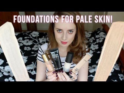 FOUNDATIONS FOR PALE SKIN