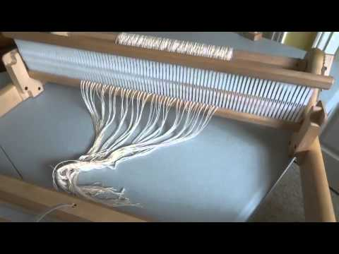 how to warp a rigid heddle loom