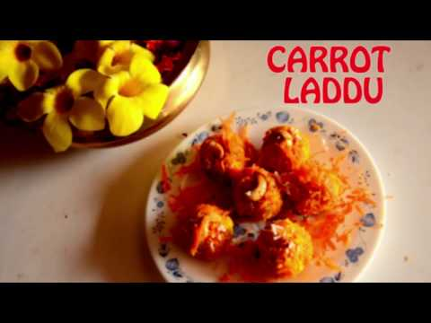 Quick and Easy Carrot Laddu | Carrot Ladoo | Indian dessert Recipe | Carrot Recipes