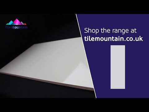 Quick Look: Olympus Light Grey Gloss Wall Tile (443285) - Tile Mountain