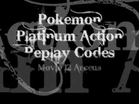 Movie 12 Arceus Action Replay Code For Platinum