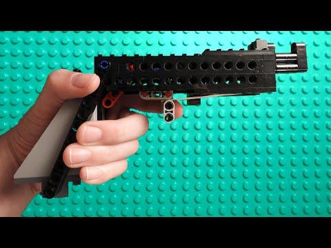 How to make a working semi auto lego gun animation