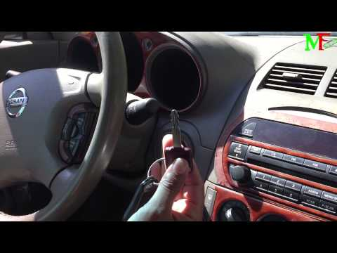 How to Set Up A New Key Remote To Your Car. (Lost Or Stolen Remote) Nissan Altima 2002