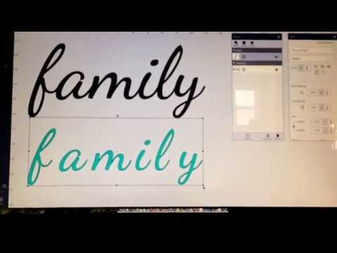 Get great results using system fonts with cricut explore