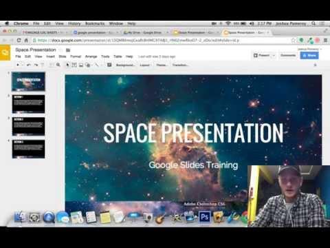 Google Slides - Combining Multiple Presentations