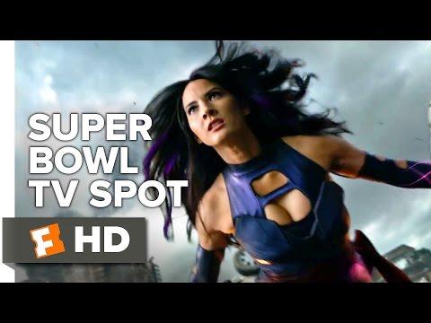 X-Men Apocalypse Super Bowl TV Spot 2016 - Jennifer Lawrence, Michael Fassbender Action HD