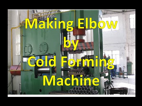Making Elbow by Cold Forming Machine