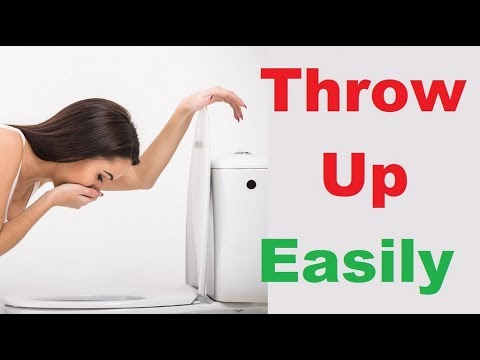How to Throw up As Comfortably As Possible-How to Make Yourself Throw Up   Simple ways