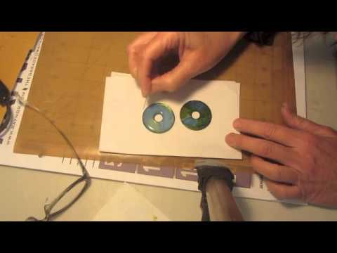 Alcohol Inks, Mod Podge and Metal Washers Part 2