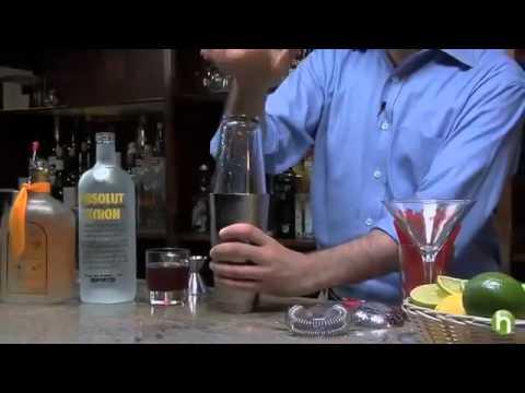 How to make a cosmopolitan   Cosmopolitan drink recipe