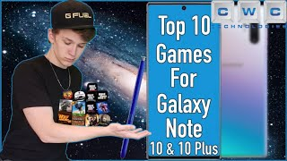 Top 10 Best Games for Samsung Galaxy Note 10 or Note 10 Plus