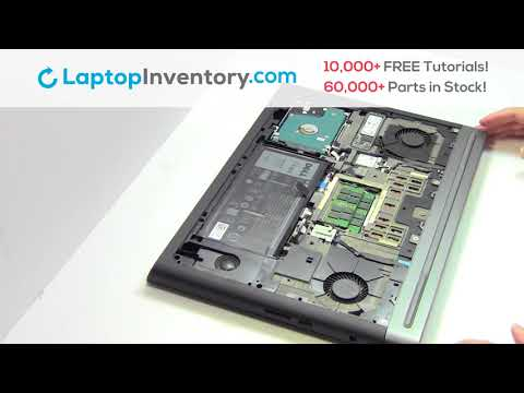 Dell Inspiron 7567 Battery Installation Replacement Guide - Install Laptop 7566 7778 P65F