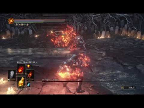 DARK SOULS III (PS4) - Champion Gundyr with Sword Master Summon