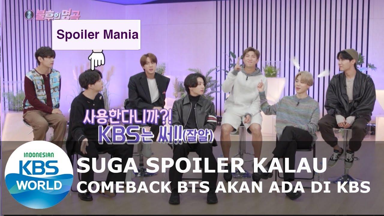 Suga Spoiler Kalau Comeback BTS Akan Ada di KBS [Immortal Songs 2/ 2020-11-14][SUB INDO]