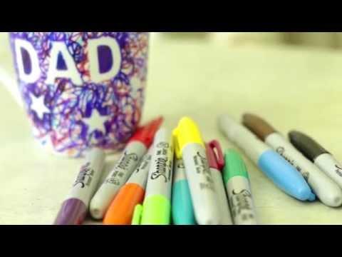 Kids craft: How to make a Sharpie scribble mug - GoodtoKnow