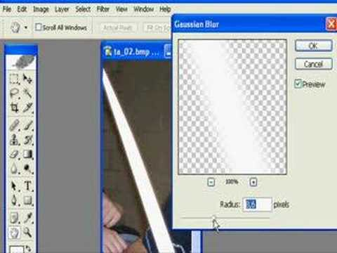 Photoshop : Lightsaber