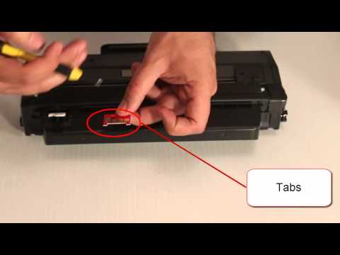 How to Replace electronic chip on Samsung Toner Cartridge MLTD103L