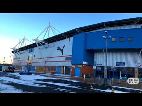 The Madejski stadium awaits the Blades