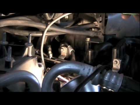 Replacing blown out spark plug