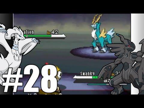 Pokemon Black & White Walkthrough - Episode 28: Cobalion And Virizion! 'HD'