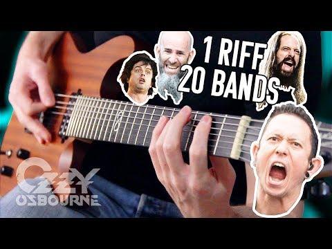 1 Riff 20 Bands #3: Crazy Train!   Pete Cottrell
