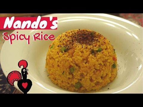 Nando's Spicy Rice Recipe (Super Easy!!!)